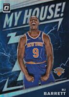 2019-2020 Donruss Optic RJ Barrett My House Card Prizm #17 New York Knicks
