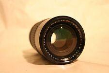 Super Albinar MC Auto Zoom 75-150MM F3.8 Camera Lens With Hood - Vintage