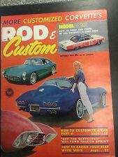 1963 Rod & Custom October Back Issue Magazine