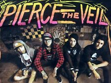 Org Tultex Pierce The Veil San Diego Band Members Women's concert  T Shirt XL