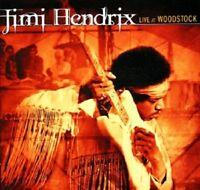 JIMI HENDRIX - LIVE AT WOODSTOCK  2 CD  16 TRACKS ROCK & POP  NEU