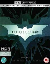 The Dark Knight Trilogy (4K Ultra HD + Blu-ray, 2017, 9 Discs Set)