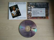 BRUCE SPRINGSTEEN- When You're Alone (Cd) Live
