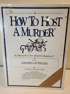 How to Host a Murder Grapes Of Frath 1920s Murder Mystery Role Playing Game