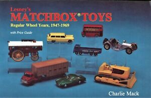 Miniature Matchbox Toys - Tyco Years 1947-1969 - Models +Values / Illust. Book