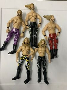 WWF WWE Finishing Moves Chris Jericho figure lot
