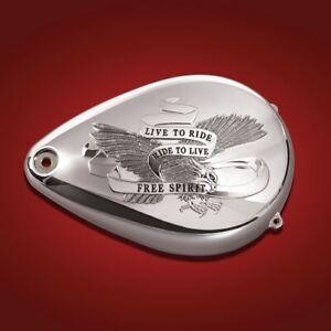 Show Chrome Air Cleaner Covers Free Spirit 81-113 1014-0033 81-113