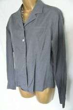 Austin Reed 100% quality cotton work blouse sz 14/16 mother of pearl buttons