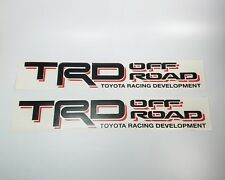 Toyota bed side TRD Off Road Tacoma Tundra decal sticker vinyl Set 1995 - 2004