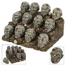 Zombie Heads Display