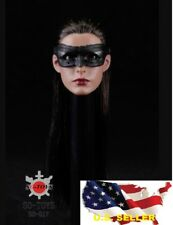 1/6 scale Anne Hathaway head catwoman mask batman for phicen kumik ❶US Seller❶