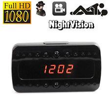 HD 1080P Reloj Despertador espía oculto Cámara IR visión nocturna