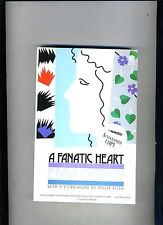 A FANATIC HEART-EDNA O'BRIEN-1ST/9TH 1985-AUTHOR SIGNED COPY-VG+