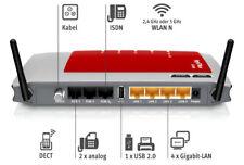 FRITZ!Box 6360 Cable Router / Modem (WLAN LAN DSL TELFON ANALOG USB KABEL DECT)