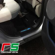 soglia posteriore battitacco illuminato Range Rover Evoque in acciaio inox