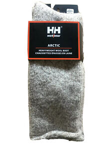 HELLY HANSEN Extreme Cold  Long  Heavy 80% Wool Outdoor Boot Socks Large