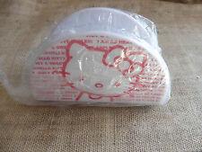 Porta tovaglioli in melanina Hello Kitty - sigillato