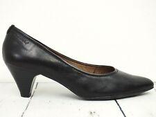 TAMARIS ☀ Damen Pumps Gr. 41 Leder Schwarz Leather Woman Shoes High Heels