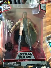 "DISNEY STORE  STAR WARS  ELITE SERIES 7""  FINN  NEW"