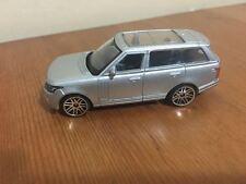 Die Cast Car Land Rover Range Rover Door 1:64 Free Rolling Wheels Silver Grey
