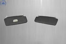 Mercedes W111 Convertible Sun Visor Sunvisor. Black Left & Right
