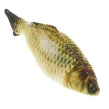 Cat Catnip Fish Toy Simulation Plush Grass Carp Fish Shape Doll Interactive Pets