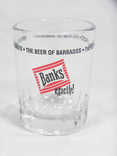 Banks The Beer of Barbados, Shot Glass - Exactly!