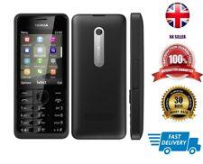Nokia Asha 301 - Black (Unlocked) Mobile Phone