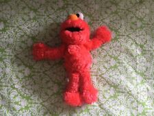 Sesame Street Elmo Stuffed Plush With Rattle Chime