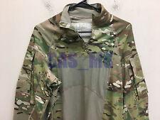 USGI MULTICAM ARMY ZIP NECK COMBAT SHIRT TYPE II FR MEDIUM NWT MASSIF AOR2