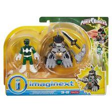 Imaginext Power Rangers Battle Armour Green Ranger * Brand New *