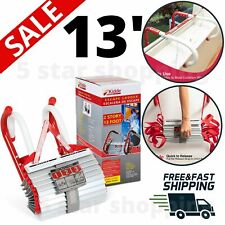 Portable Emergency Fire Escape Ladder Window Rope Metal Life Home Safety House