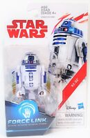 "R2 - D2 Star Wars Last Jedi Force Link 3.75"" Hasbro Action Figure New"