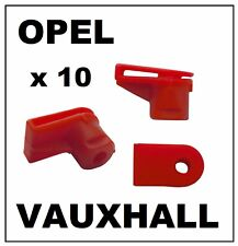 10 x VAUXHALL OPEL Bumper to Wing Plastic Moulding Grommet Clip Fasteners