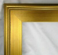 "VINTAGE Fits 18"" X 24"" LEMON GOLD GILT PICTURE FRAME FINE ART GALLERY"