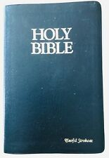 Bible King James Giant Print Red Letter Leather Zondervan Concordance Maps