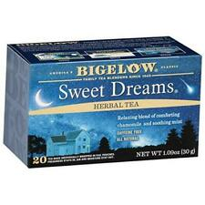 Bigelow Sweet Dreams Herbal Tea 20 Bags (Pack of 6), 120 Tea Bags Total.  Caffei