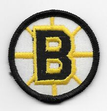 """sew or iron on Set of 2 Boston Bruins 2/"""" Round Patch Old B Logo"""