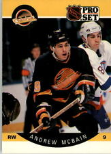 1990-91 PRO SET HOCKEY ANDREW MCBAIN ERROR PHOTO OF SANDLAK #301 NMT/MT-MINT