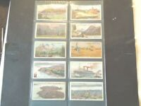 1914 Wills OVERSEAS DOMINIONS CANADA  Tobacco cards complete 50 card set