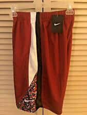 New Nike Basketball Shorts Boys Size M *Red