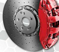 KIT Vernice Spray 2K per pinze freni auto Brembo ROSSO LUCIDO alta temperatura