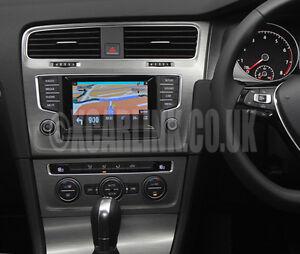 VW Golf Mark VII 7 SatNav GPS Multimedia Video Rear Reverse Camera Interface