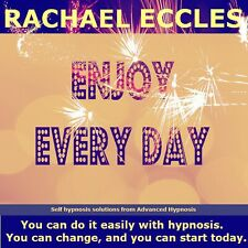 Enjoy Every Day, Be Positive & Happy Hypnotherapy Hypnosis CD