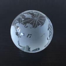 Wasser-laufender Glaskugel für Zimmerspringbrunnen Weltkugel Globus Ø ca.12 cm