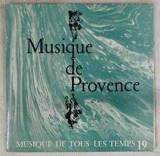 Musique de tous les temps 45 tours Musiquer de Provence