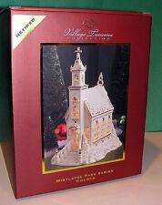 LENOX MISTLETOE PARK CHURCH 2006 Village Treasures series NEW in BOX Lighted