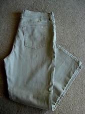 Gloria Vanderbilt Amanda Stretch Beige Slimming Jeans - 8 Average/Medium