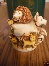 "Harmony Kingdom Behold The King"" 1998 Rw Pride of Lions"