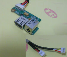 NEW DC Power Jack USB Board for HP DV6000 F500 G6000 V6000 DDAT8APB200